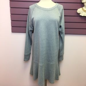 Like New CAbi grey sweatshirt dress